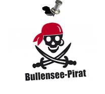 40° Druckstück >Bullensee-PiratIn< Aufdruck: Flex- und Flockfolie