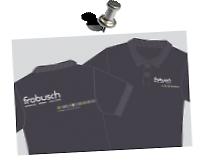 Individueller Druck >Firma Frobusch<  Aufdruck: Flexfolie