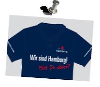 Individueller Druck >ZAF Hamburg<  Aufdruck: Flexfolie