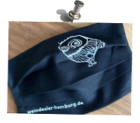 Individueller Mund-Nase-Druck >weindealer-hamburg.de<