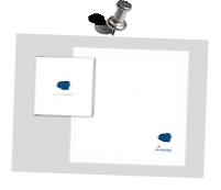 Individueller Druck zur Hochzeitseinladung  Aufdruck: Flexfolie auf einer Stoff-Serviette